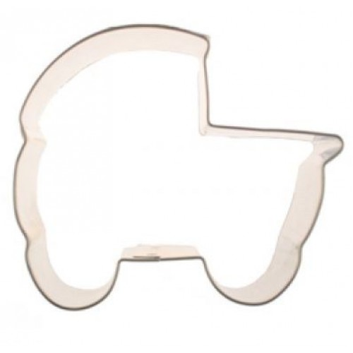 Baby Carriage Cookie Cutter 3""