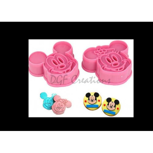 Mickey & Minnie Cutter / Press