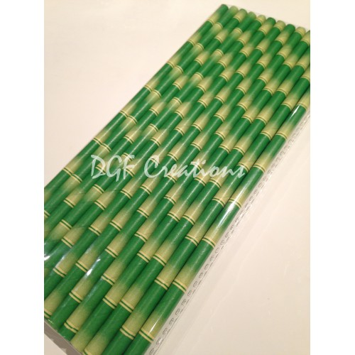 Bamboo Paper Straw