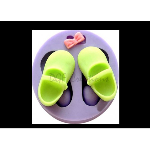 Baby Girl Shoes & Bow