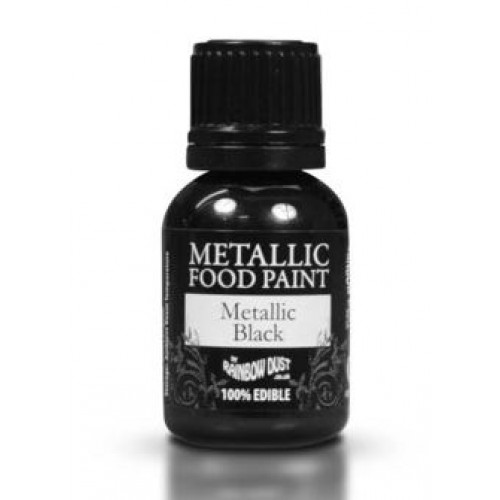 Rainbow Dust Metallic Black 25ml