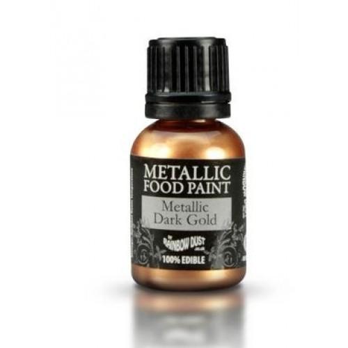 Rainbow Dust Metallic Dark Gold  25ml