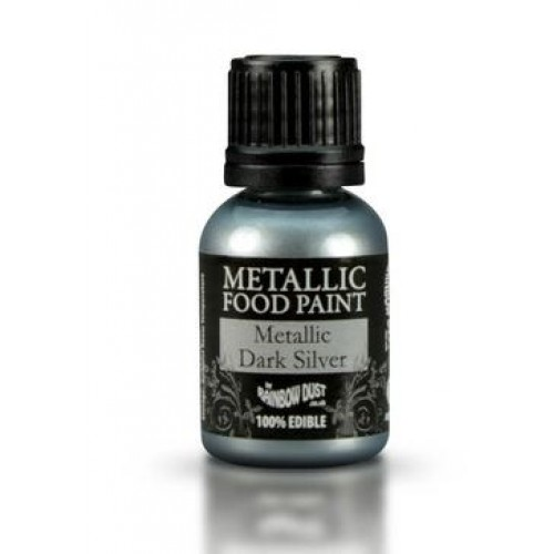 Rainbow Dust Metallic Dark Silver  25ml