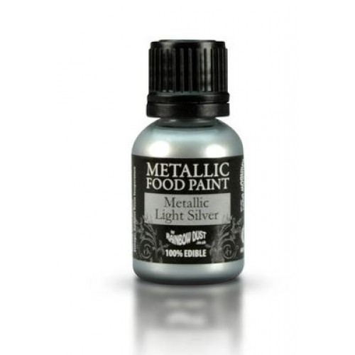 Rainbow Dust Metallic Light SIlver  25ml