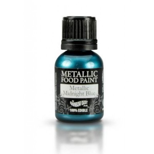 Rainbow Dust Metallic Midnight Blue  25ml