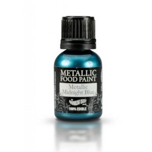 Rainbow Dust Metallic Midnight Blue  25ml