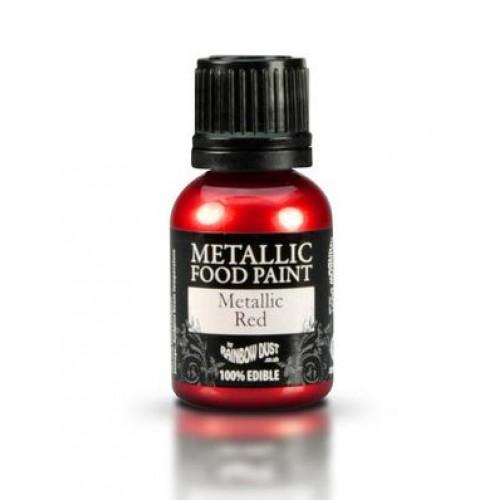 Rainbow Dust Metallic Red  25ml