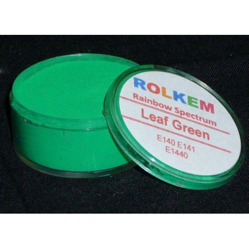 ROLKEM RAINBOW SPECTRUM LEAF GREEN 10ML