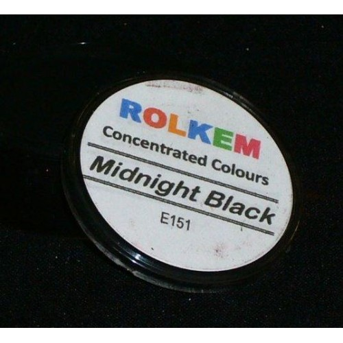 ROLKEM concentratrated MIDNIGHT BLACK
